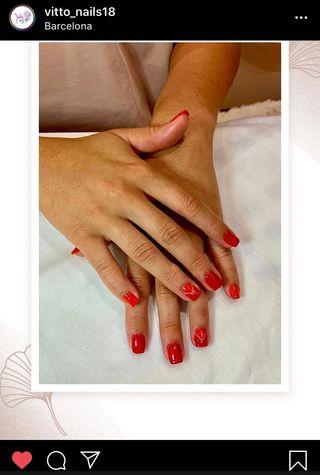 Manicura y pedicura profesional (Vitto Nails)