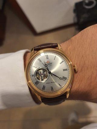 Reloj Automático Orient Vintage Oro rosa