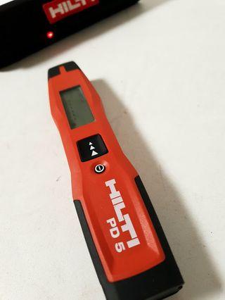 Hilti PD5 medidor láser