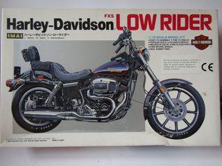 Harley-Davidson FXR Low Rider (IMAI) Maqueta 1/12