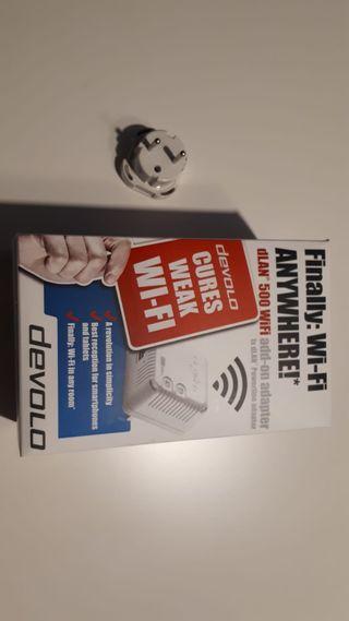 Adaptador PLC Wifi Devolo dLAN 500