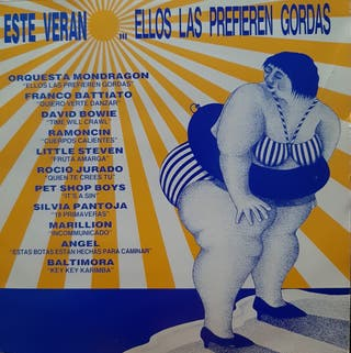 LP vinilo VERANO MIX 1987