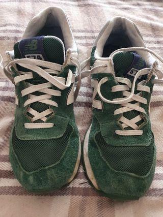 New balance 574 Verdes/Green Zapatillas UK 9 / 43
