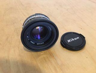Objetivo NIKKON 50 mm