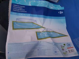 Baldosas de goma para suelo piscinas hinchables