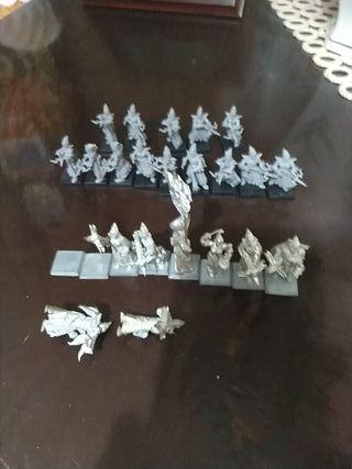warhammer Fantasy elfos oscuros ballesteros