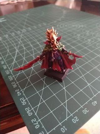 warhammer Fantasy Elfo Oscuro héroe lokhid Fellhea