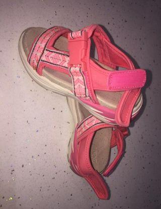 sandalias niña Zara