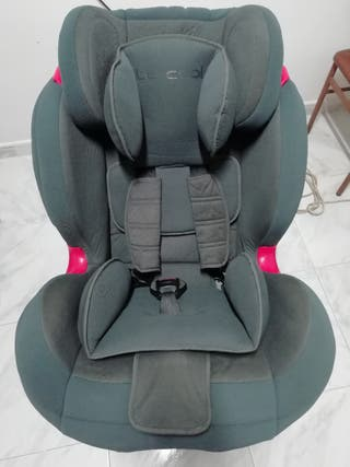 silla para coche be cool sin isofix 1 2 3