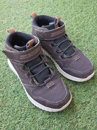 Zapatillas Botas Niño Skechers