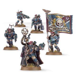 Militarum Tempestus Scions Command Squad