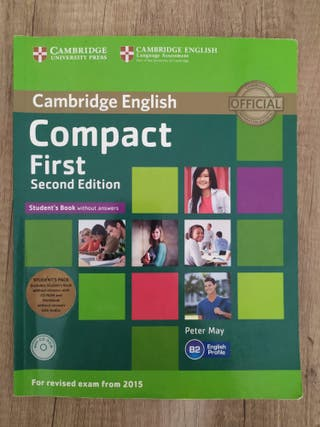 Libro inglés Compact First