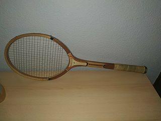 Raqueta tenis retro