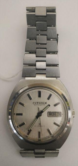 Reloj de pulsera automático con dietario - CITIZEN