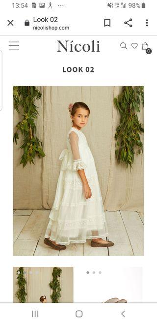 vestido de comunión de NICOLI, talla 10