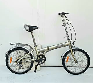 Bicicleta paseo plegable Aluminio