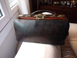 maletín médico antiguo años 30