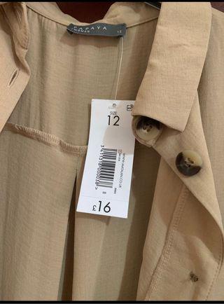 Long Shirt Dress New Size 12 MATALAN