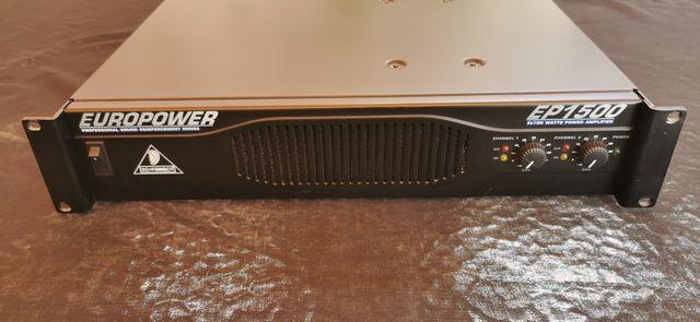 etapa amplificador Behringer EP1500