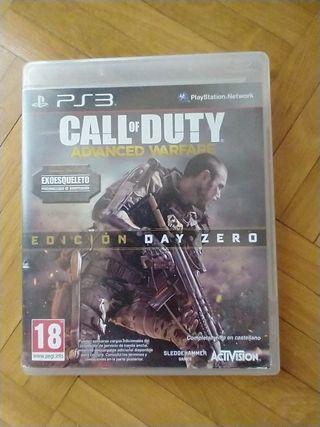 videojuego PS3 call of duty advanced Warfare