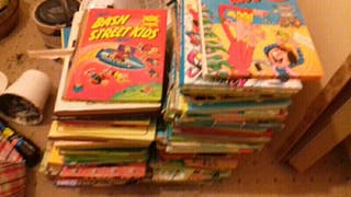 hi joblot of books and comics