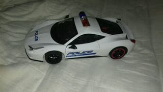 rc police car with controller
