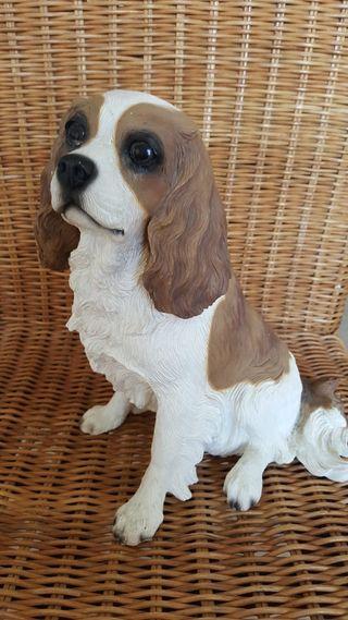 Figura de perro inglés