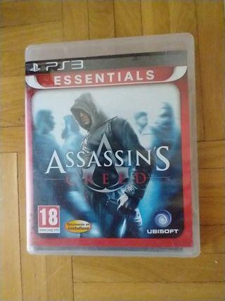 videojuego PS3 assassin's Creed
