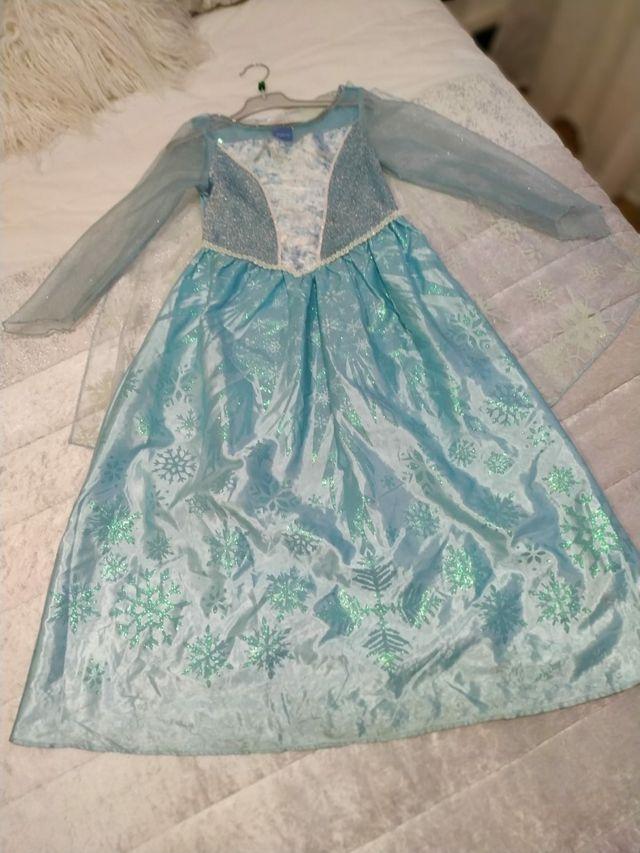 Frozen, disfraz de Elsa.