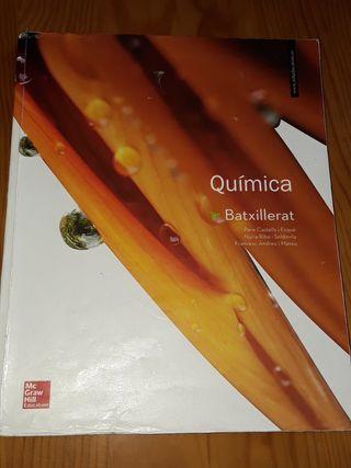 llibre quimica 1er batxillerat McGrawhill