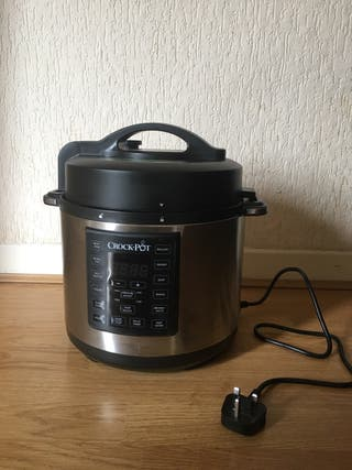 Crock-pot express pressure cooker - slow cooker