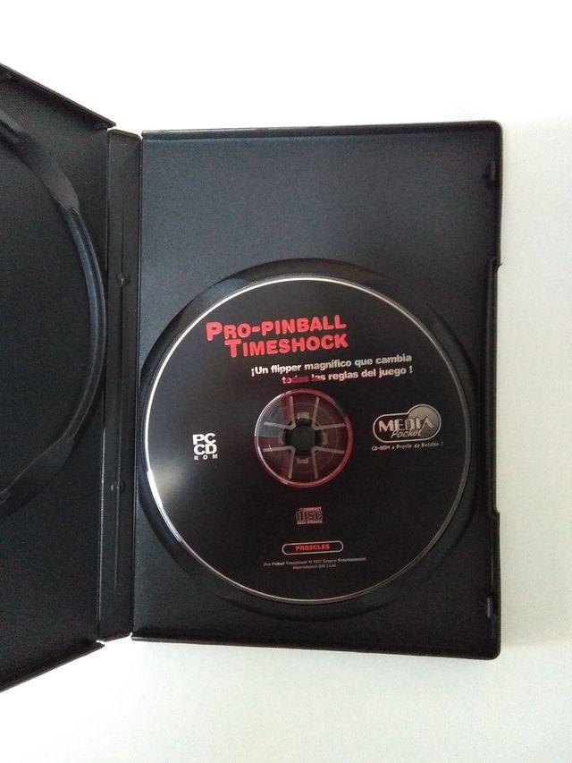 Juego PinBall en cd-rom