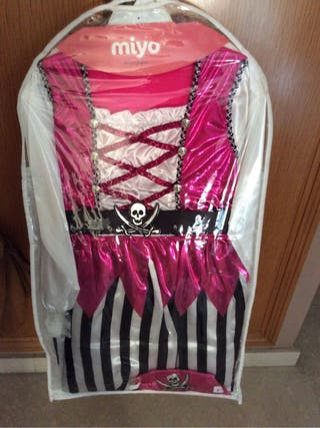 Disfraz pirata rosa