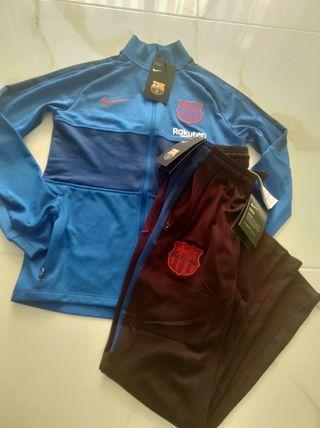 Chandal FC Barcelona niño Nuevo Etiquetas