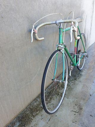 bicicleta carreras antigua