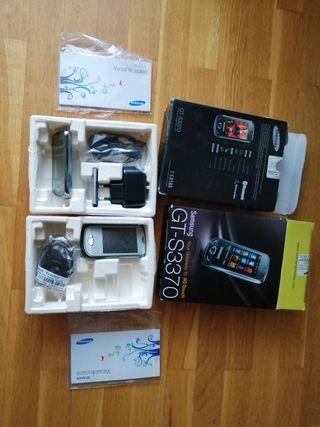 2 móviles Samsung GT S3370 SIN ESTRENAR táctiles