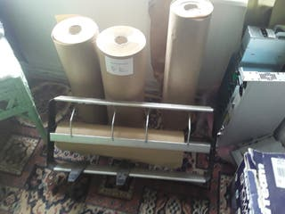 Kraft roll paper packaging dispenser