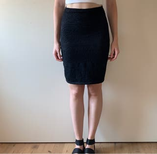 Falda de cintura alta, ajustado. Talla S