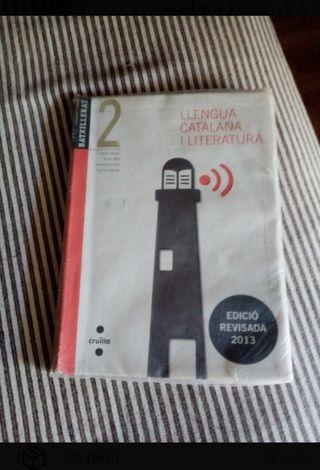 Lengua catalana literatura 2 bachillerato