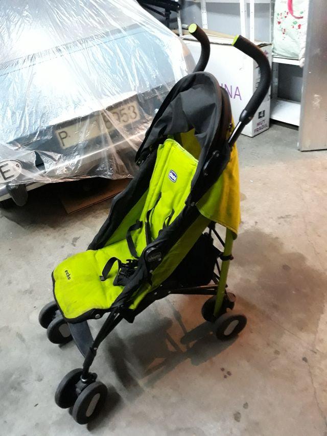 silla de paseo CHICCO con TODOS los complementos