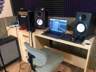 Estudio grabación home studio