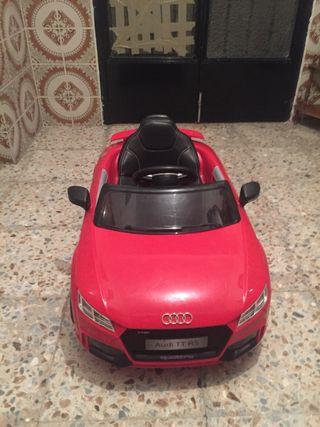 Coche Eléctrico 12v Audi TT R5
