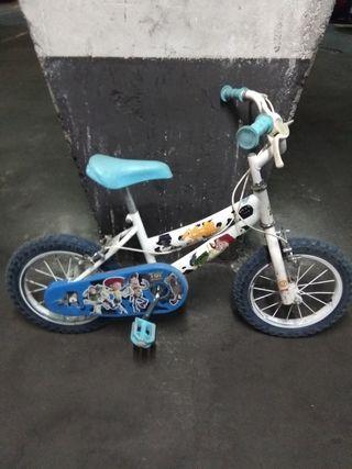 Bicicleta BMX Toy Story niño