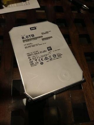 Disco duro 8tb 8 tb wester digital