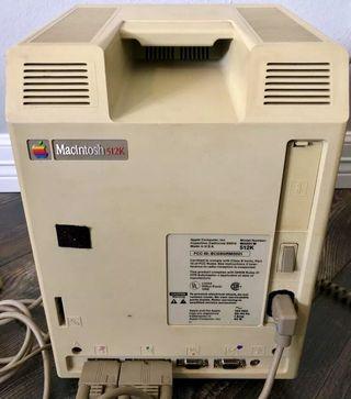 Macintosh 512K Year 1984, Primer Mac 512k