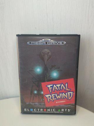 juego fatal rewind de sega mega Drive completo