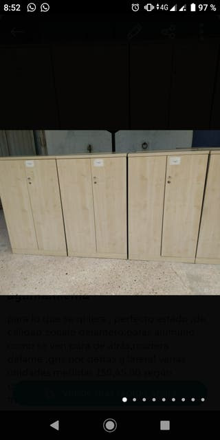 armario madera de calidad 130*80*45 fondo