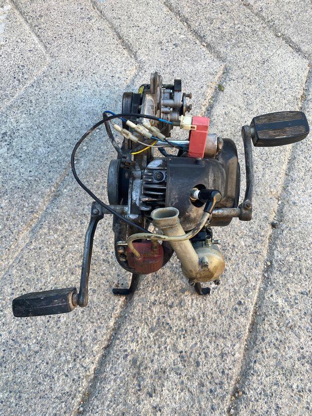 Motor Vespino ALX funcionando