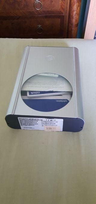 Caja de aluminio del Motorola v3
