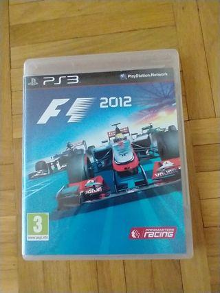 videojuego PS3 Fórmula 1 2012